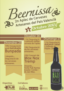 aplec de cerveses artesanes país valencià benissa beernissa