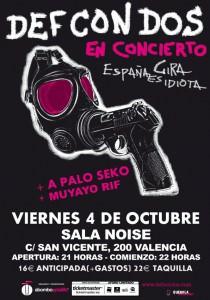 Def Con Dos, A Palo Seko Valencia