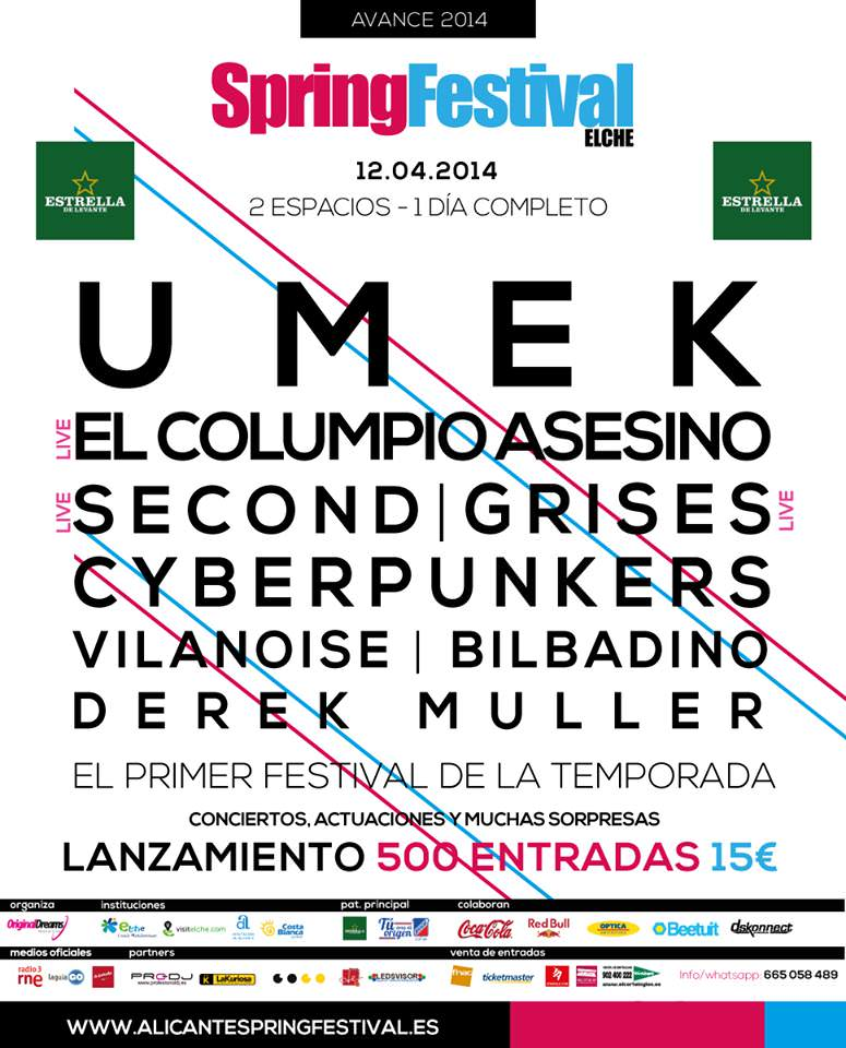 Alicante Spring Festival Elche Elx Alacant