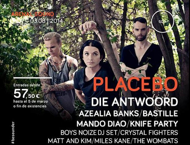 Die Antwoord Placebo Arenal Sound