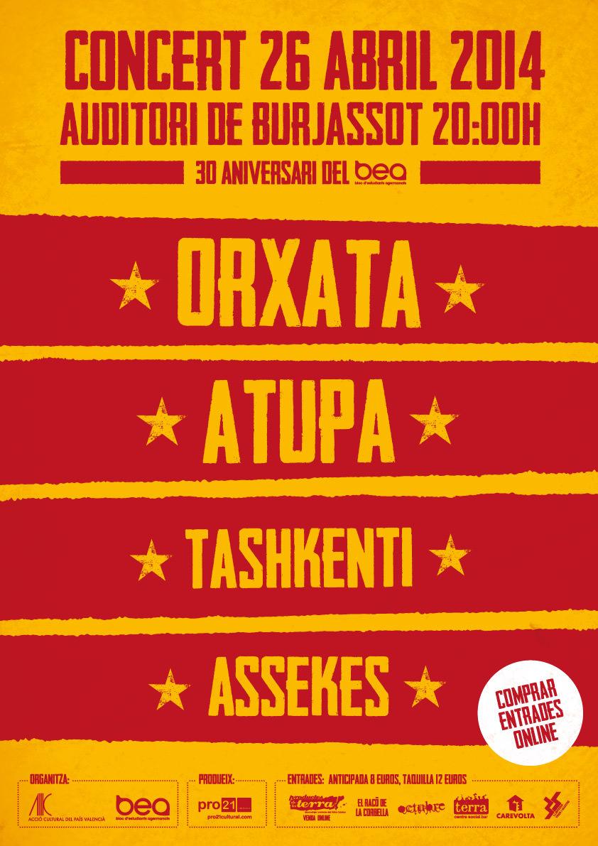 concert 25 abril