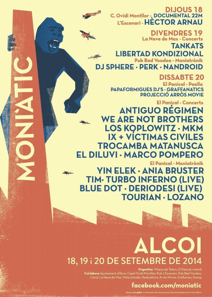 Moniàtic Festival Alcoi Moniatrònik