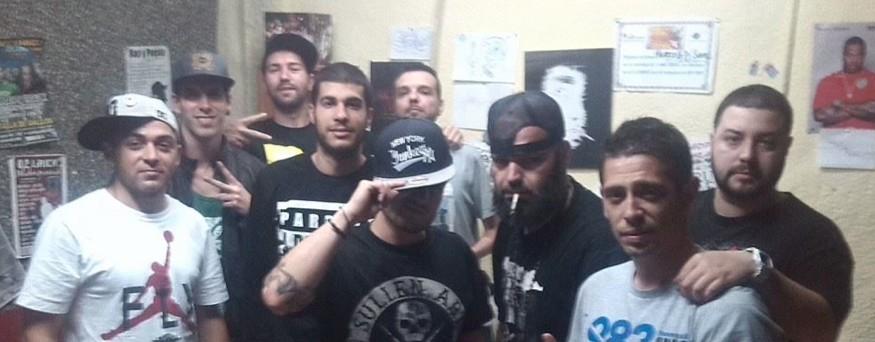 El Blüe a Sevilla amb Halberto El Cheff i altres MCs sevillans
