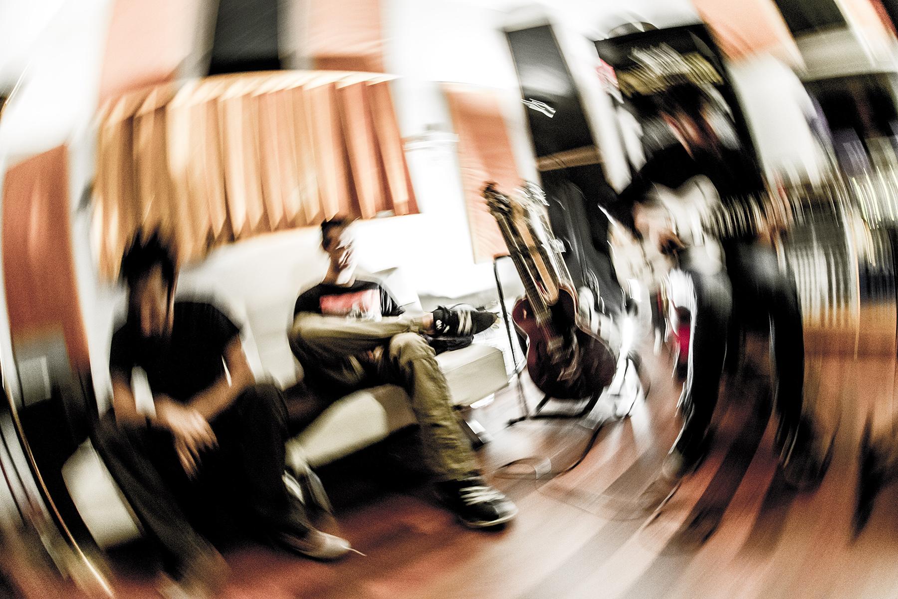 Smoking Soul's a l'estudi by Xepo WS