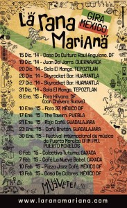 Cartel La Rana Mariana