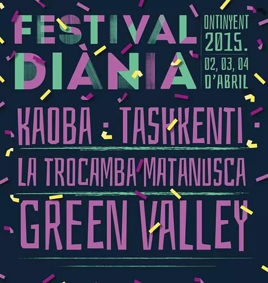 primeres confirmacions festival diània