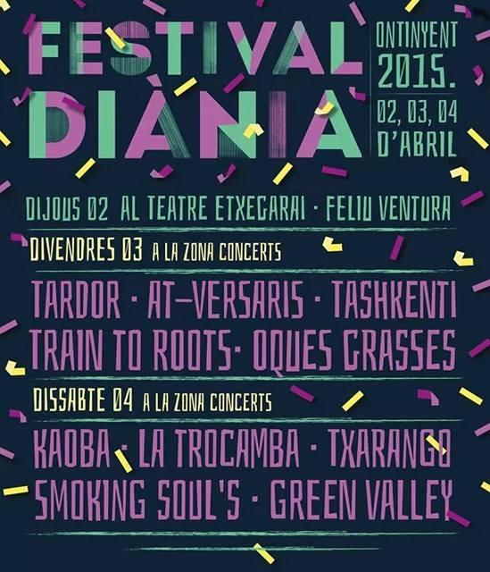 Festival Diània 2015 Ontinyent