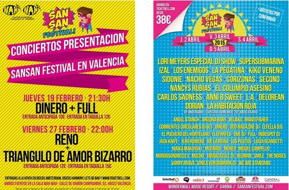 San San Festival Parties