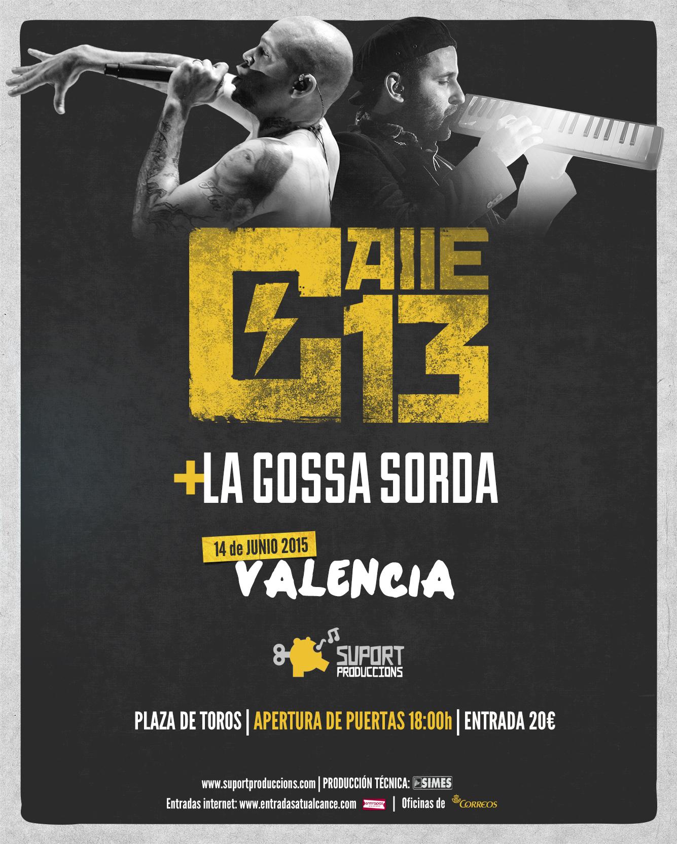 Calle 13 La Gossa Sorda Valencia