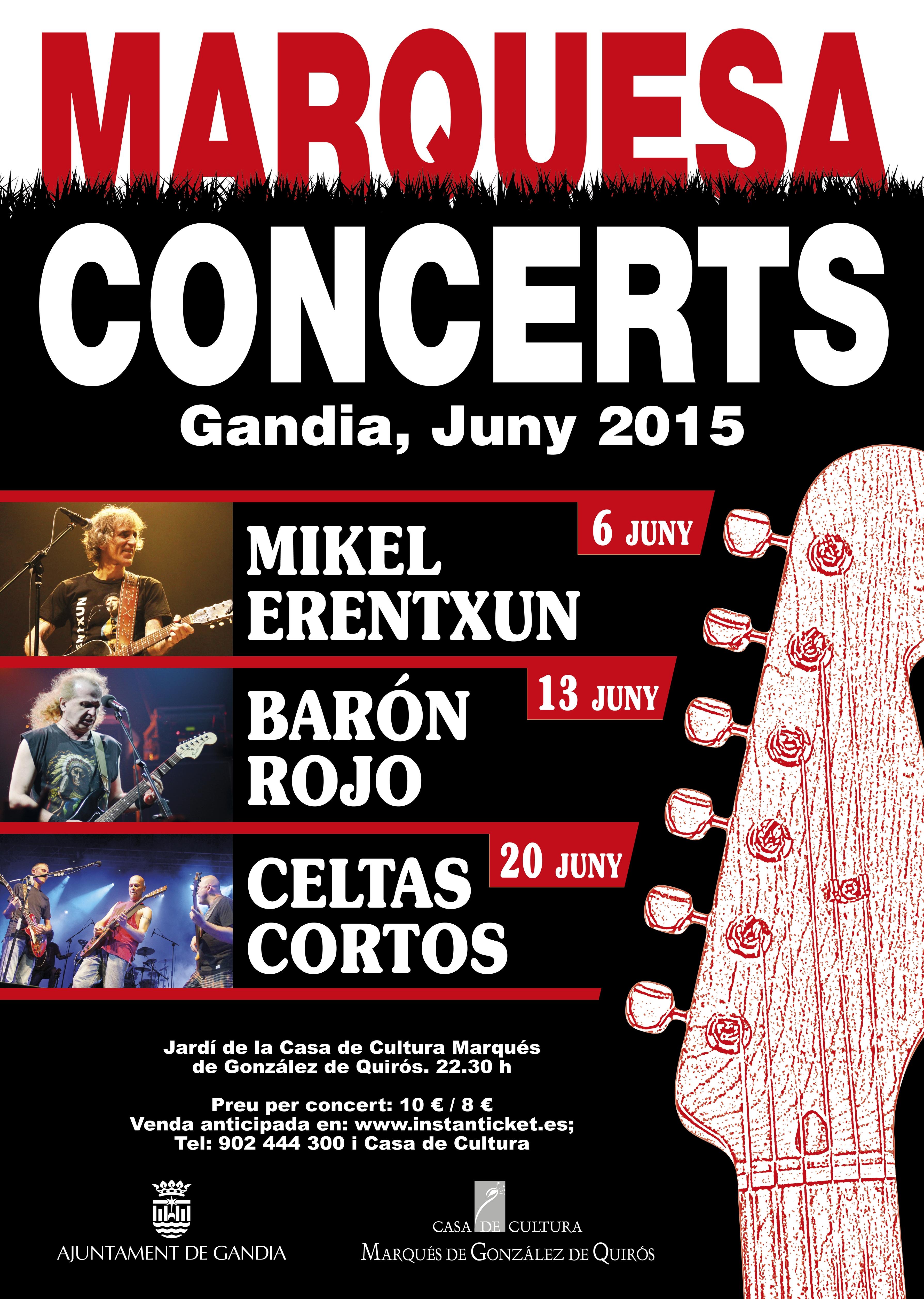 Celtas Cortos Marquesa Concerts