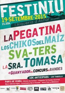 Festiniu 2015 Alqueria d'Asnar