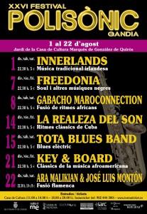 cartell festival polisònic gandia