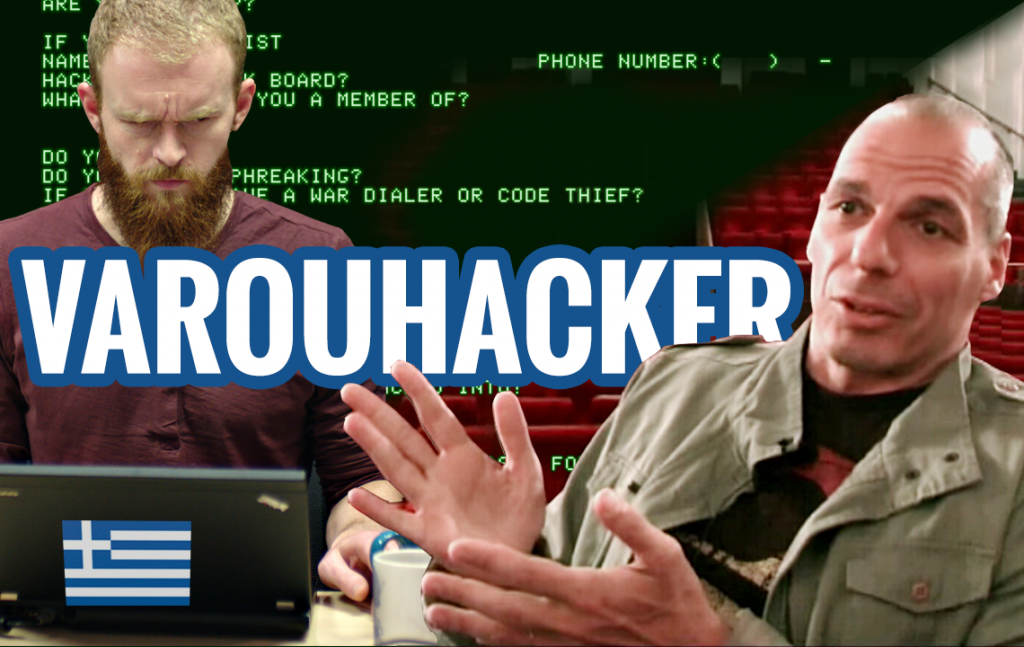 Varufakis hacker Grècia