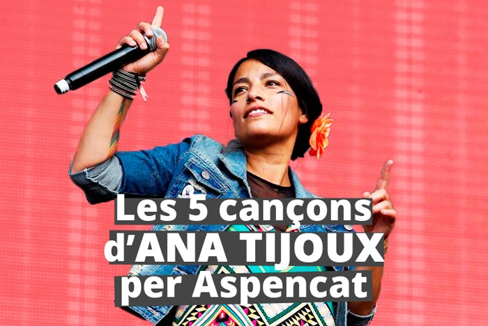 Ana Tijoux Aspencat Festa de Benvinguda UV 2015