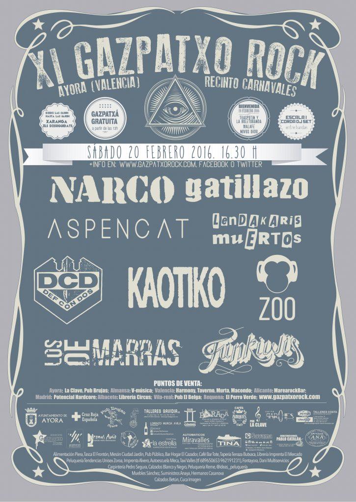 Gazpatxo Rock 2016