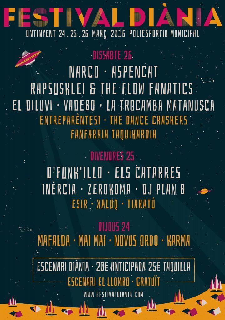 Festival Diània 2016 Ontinyent