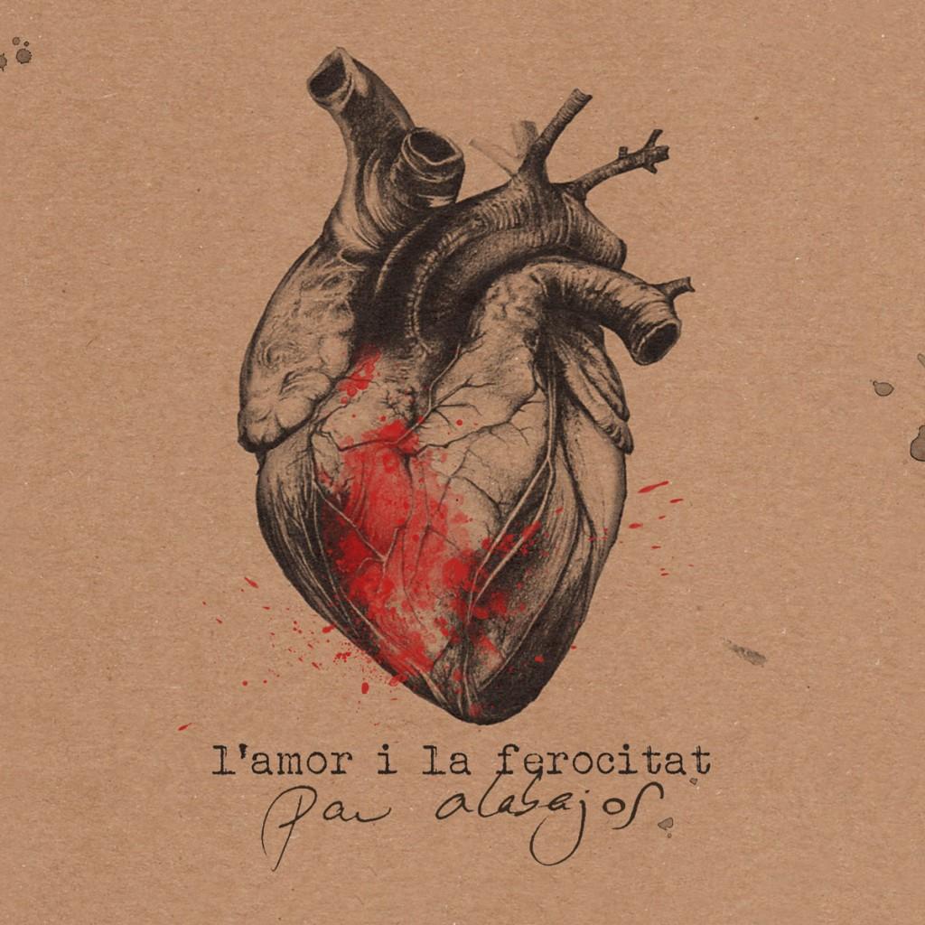 L'amor i la ferocitat, Pau Alabajos, Portada