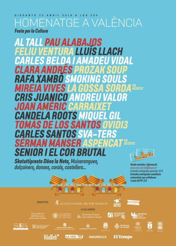 Homenatge a València Plaça de bous ACPV