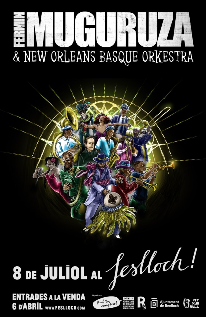 Feslloch 2016 Fermin Muguruza New Orleans