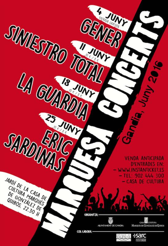 Marquesa Concerts Gandia