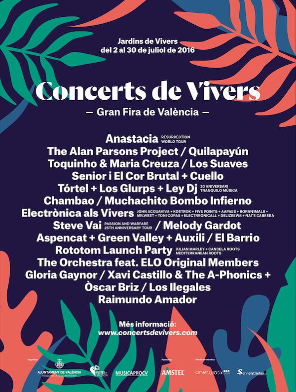 Concerts de Vivers València