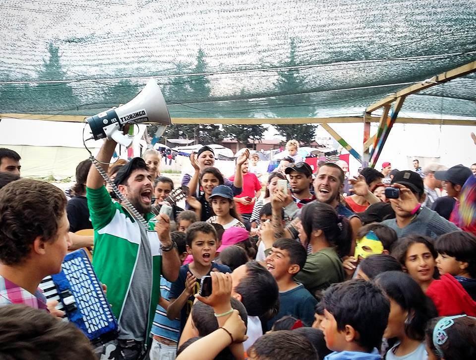 Txarango Refugiats Idomeni Grecia