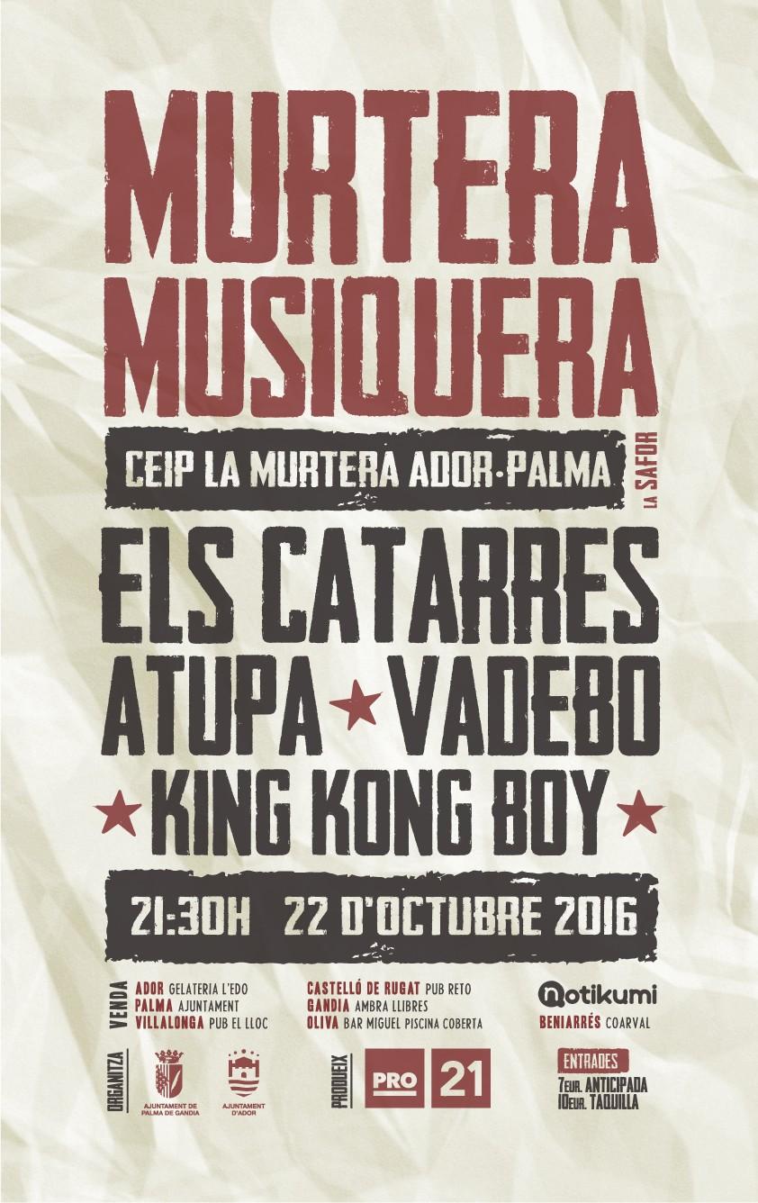murtera musiquera últim concert els catarres