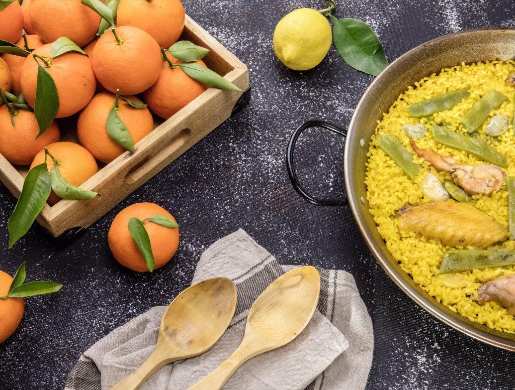 suculent gilabert paella mandarines