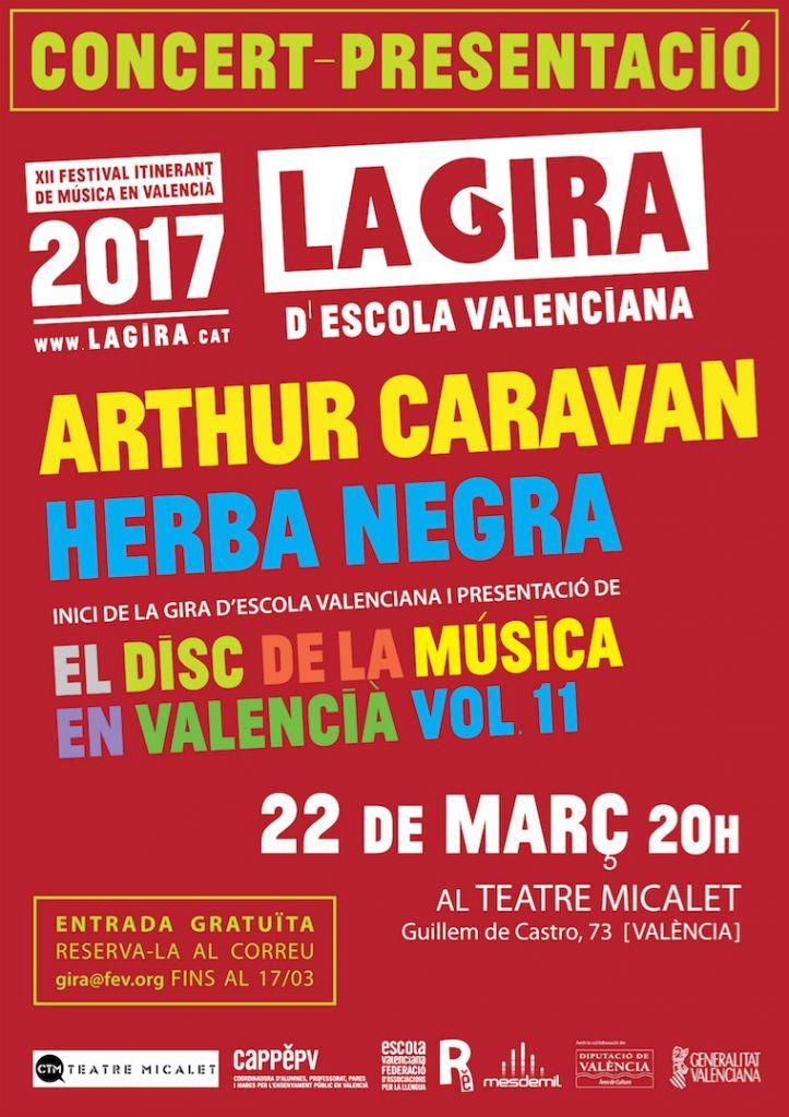 La gira 2017 escola valenciana