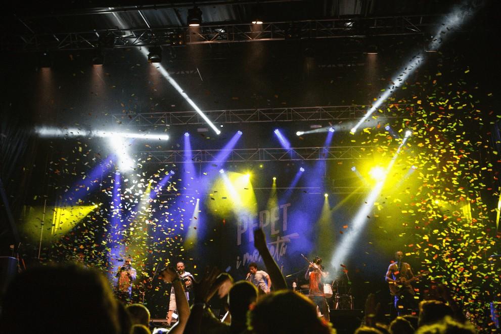 Un moment del concert de Pepet i Marieta - Feslloch 2017 -