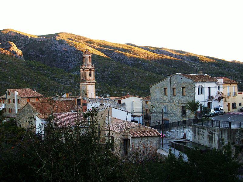 Vall de Gallinera. Un dels pobles més interessants del País Valencià