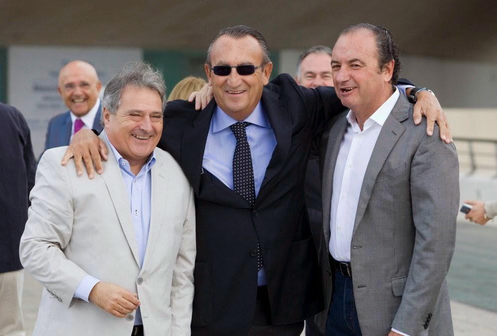 Carlos Fabra amb els seus amics
