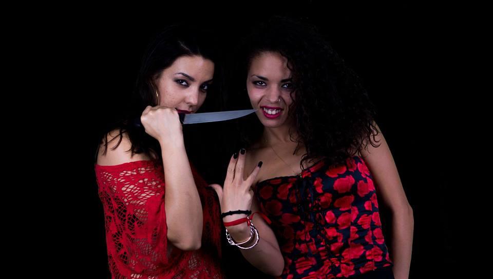 Machete en boca és un grup de dones que fan rap