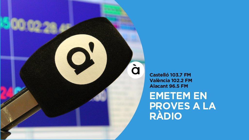 À Punt Ràdio ja emet en proves