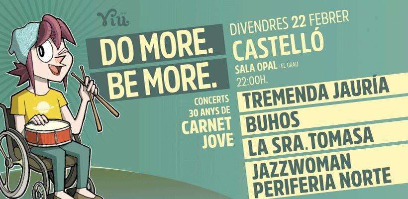 Carnet Jove Concert Castelló