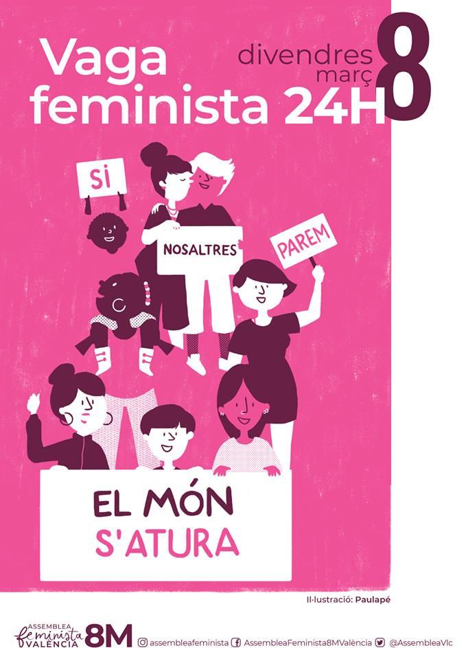 Revolta Feminista 8 Vaga
