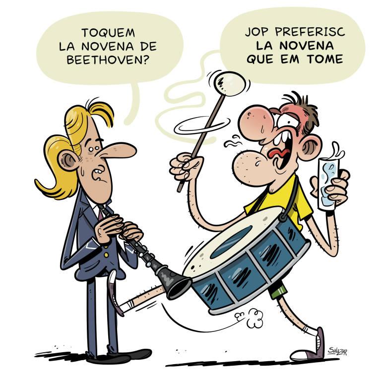 Jordi Company Caricatura