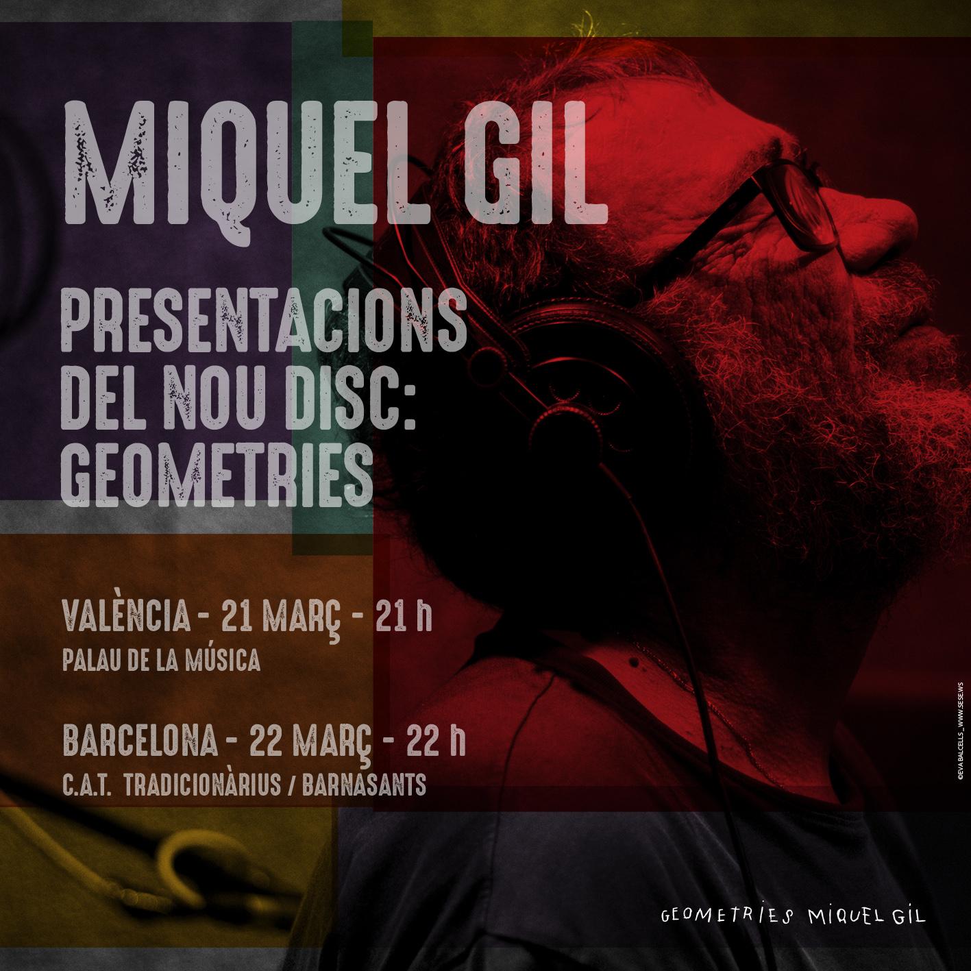 Miquel Gil Concert Palau
