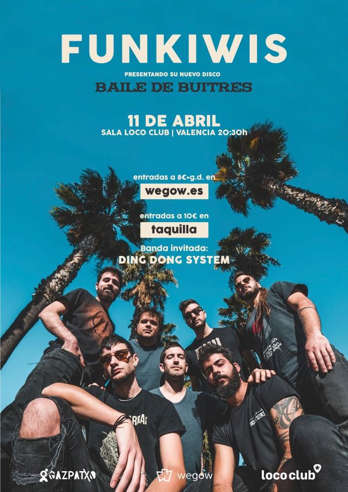 Funkiwis Baile de Buitres Concert