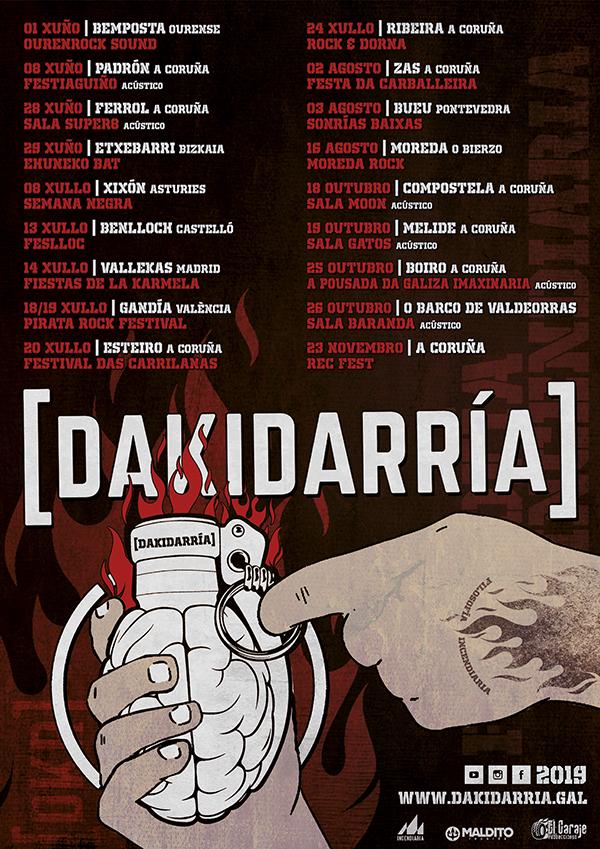 Gira Dakidarría 2019