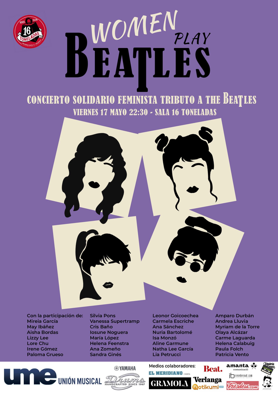 Women play Beatles cartell