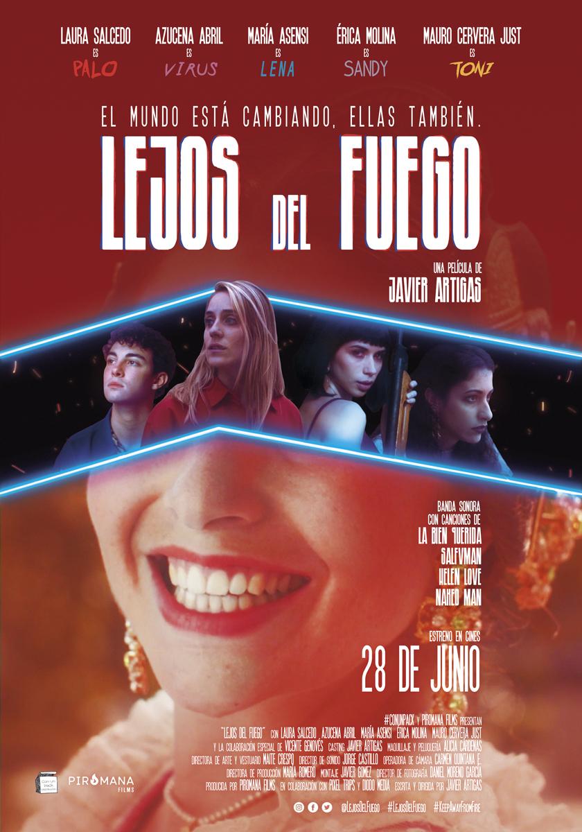 Poster Lejos del Fuego