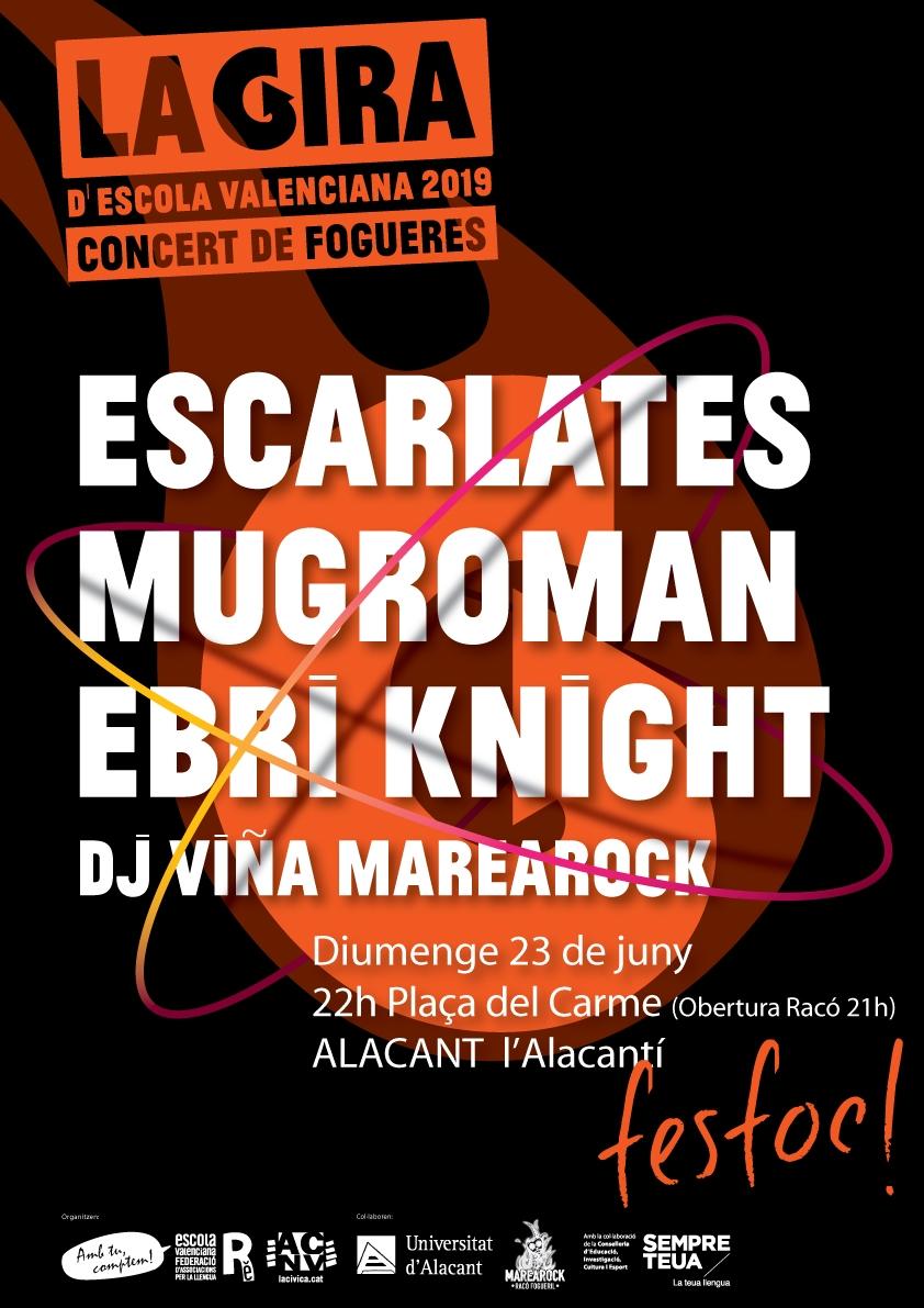 Fesfoc Alacant 2019 La Gira Concert de Fogueres