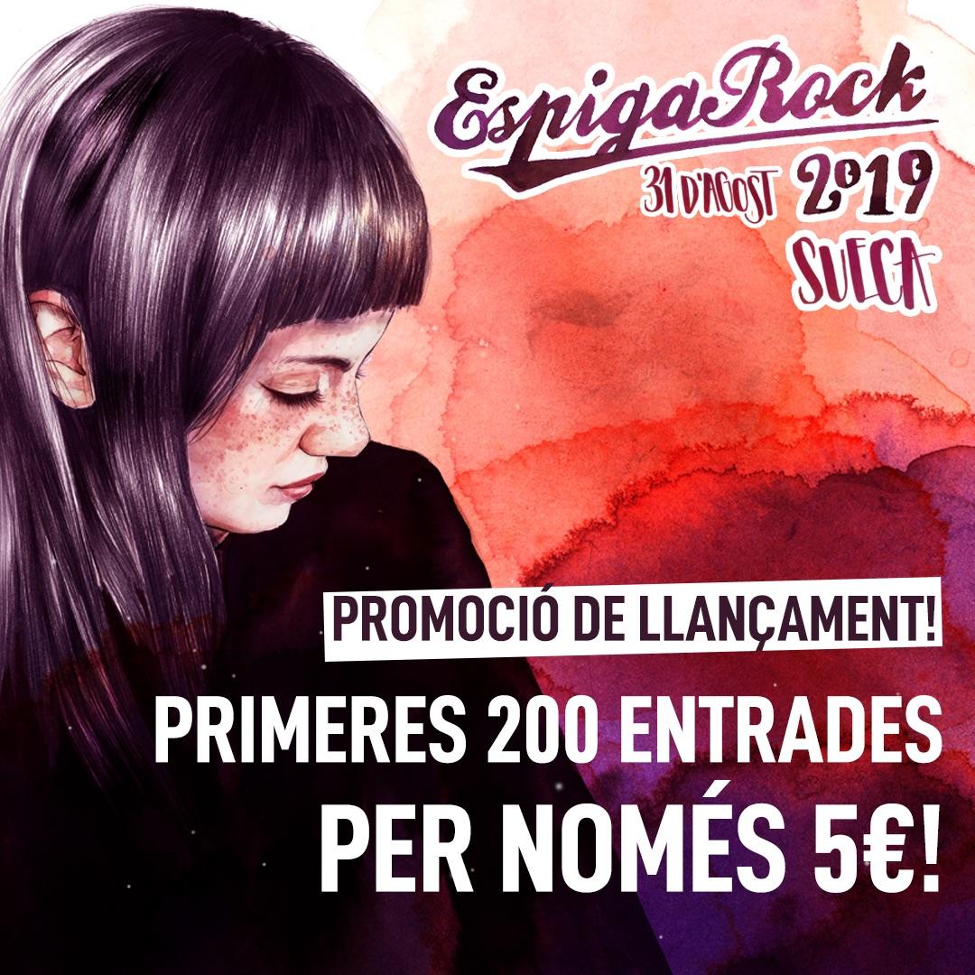 Promoció Espiga Rock 2019