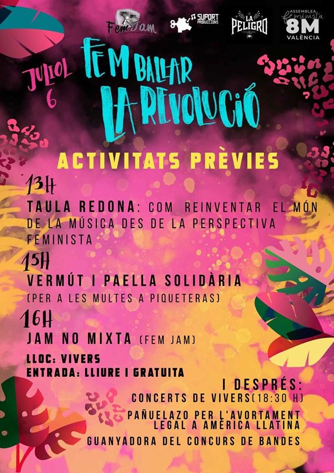 Fem Ballar la Revolució Activitats