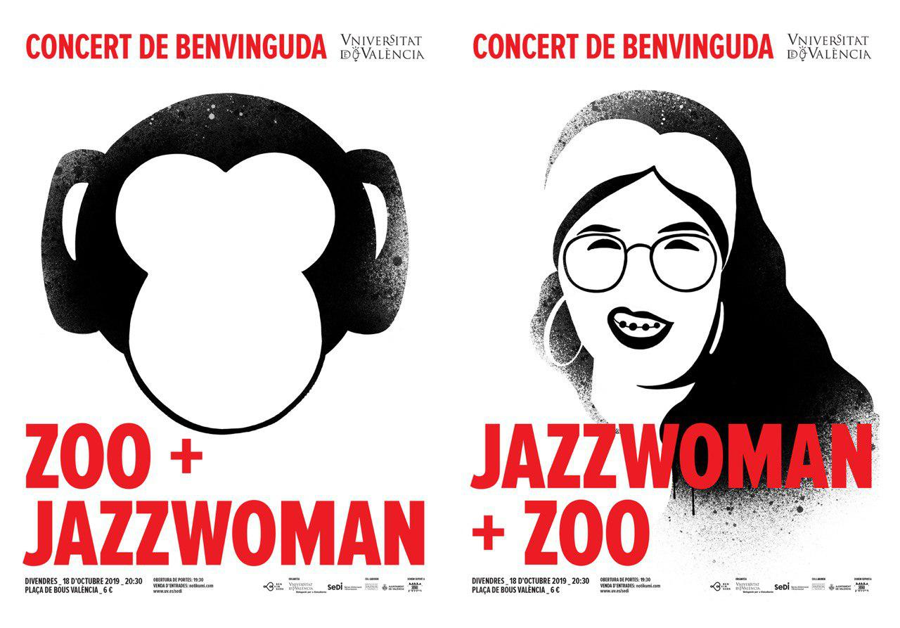 Benviguda UV 2019 ZOO JazzWoman