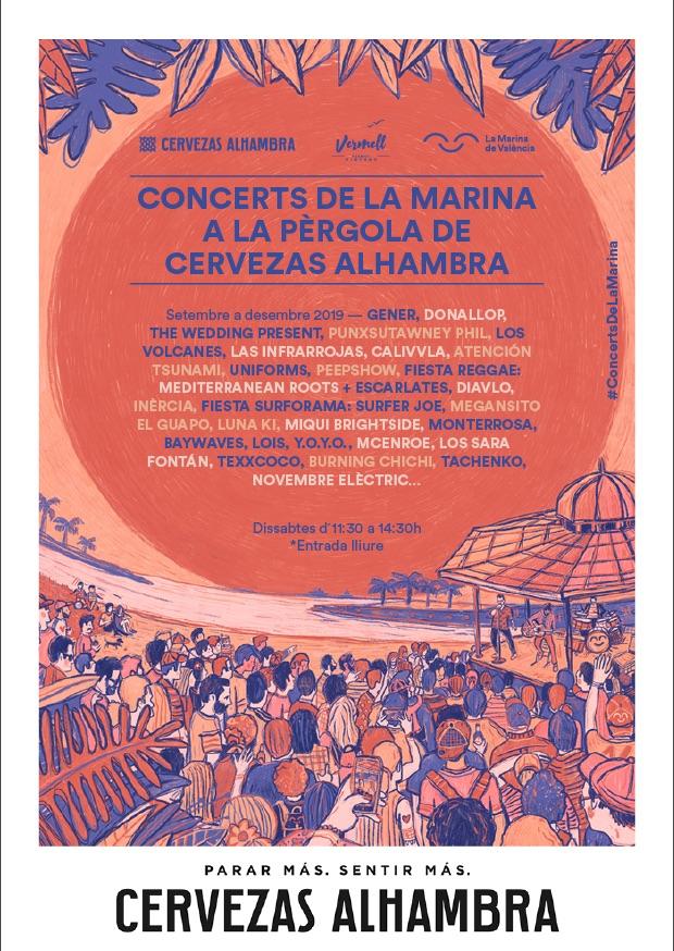 Concerts Pérgola 2019
