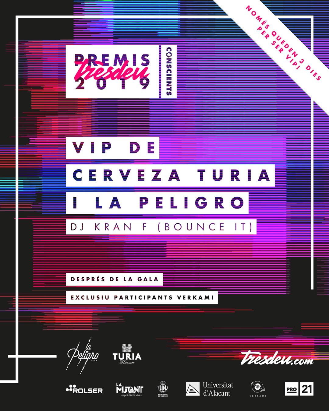 VIP Premis Tresdeu 2019