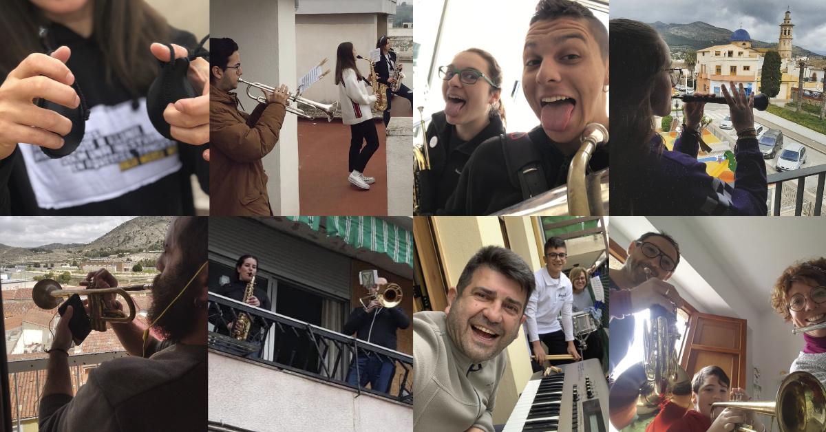 Els músics valencians donen la nota! Recopilació del Festival dels Balcons