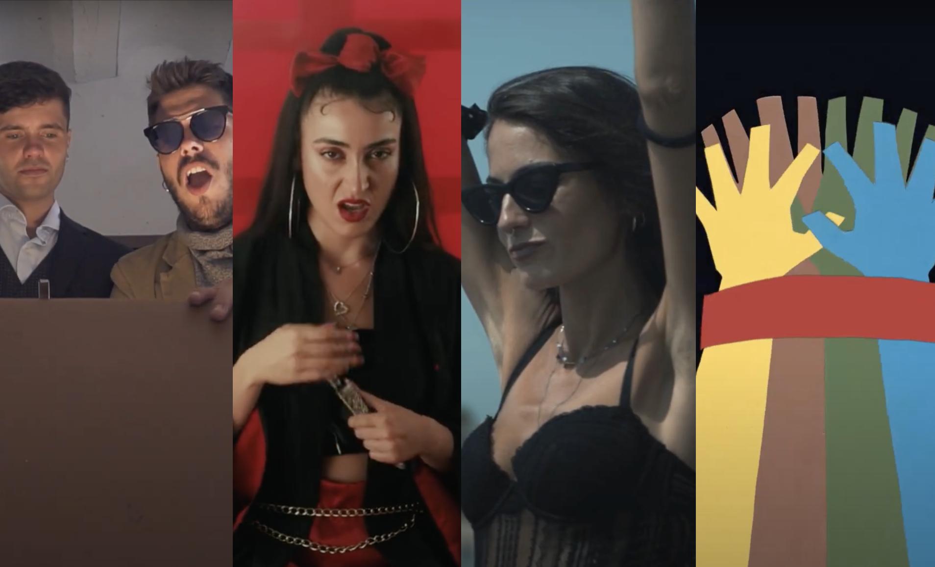 5 videoclips per encetar la setmana